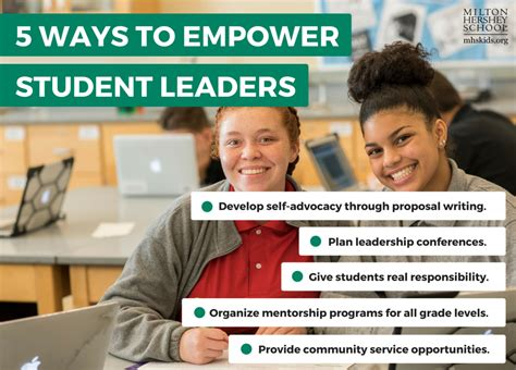 tips  empowering student leaders milton hershey school