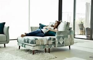 Fauteuil Deux Places : fauteuil 2 places avec pouf story ~ Teatrodelosmanantiales.com Idées de Décoration