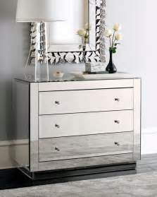 mirrored dresser design ideas comes with mirrored drawers