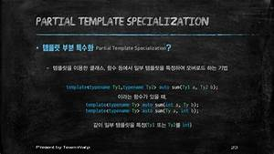 template at c With partial template specialization