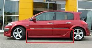 Renault Megane Ii Mk2 3 Or 5 Doors Side Skirts New