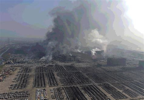 Tianjin Blast: Monumental Clean Up Of Disaster Caught In ...