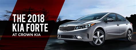Crown Kia by Reasons To Buy The 2018 Kia Forte In St Petersburg