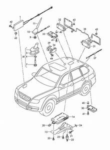 Volkswagen Touareg Antenna Booster  Receptiondigital