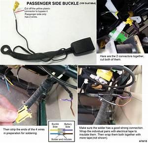 Wiring  Gti Airbag Indicator Warning Light