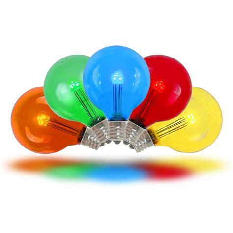 colored light bulbs multi colored led g30 glass globe light bulbs novelty lights