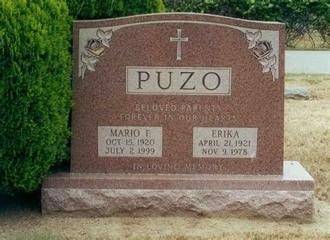 bobby helms boxer grave marker mario puzo american author godfather
