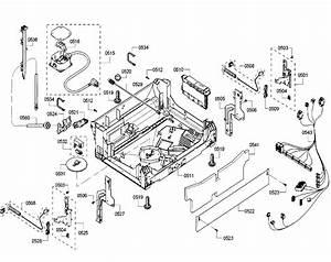 Base Diagram  U0026 Parts List For Model She53tf6uc01 Bosch