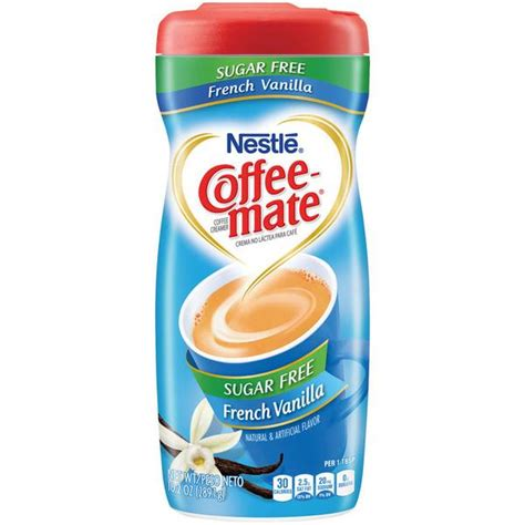 Transform the coffee you like into the coffee you love with coffee mate sugar free french vanilla coffee creamer. Coffee-Mate French Vanilla Sugar Free Creamer - 162752 | Blain's Farm & Fleet