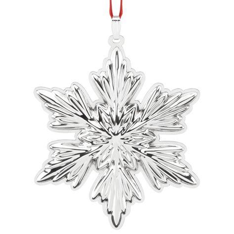 Holiday Snowflake Ornament Reed Barton
