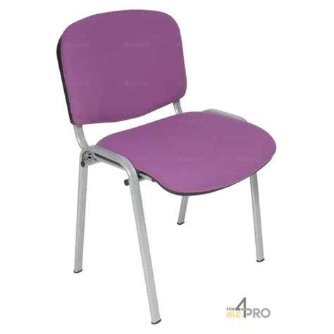 chaise accoudoir tissu chaise visiteur tissu ds20 sans accoudoir pieds gris alu