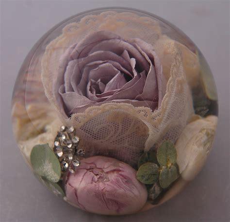 wedding flower paperweights  perfect