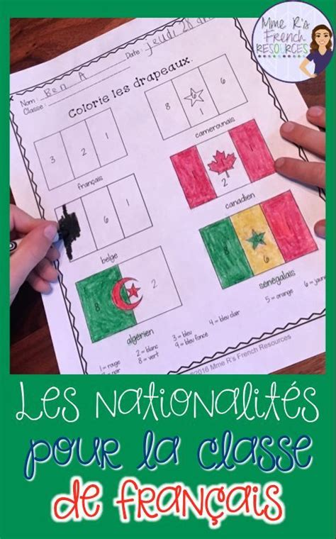 This is a great packet of resources for French teachers ...