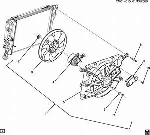 Pontiac Solstice Shroud  Radiator Fan Shroud  Shroud  Eng