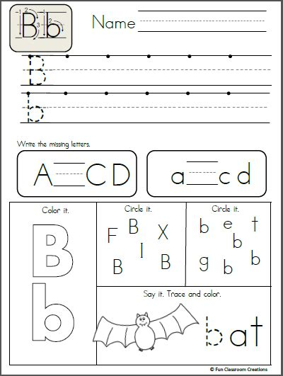 animal alphabet letter writing practice letters