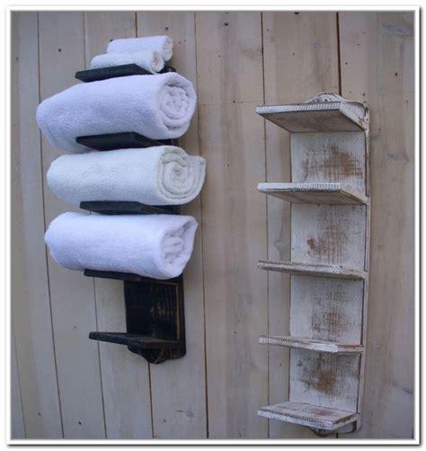 towel storage ideas for bathroom wall mounted towel storage design decoration