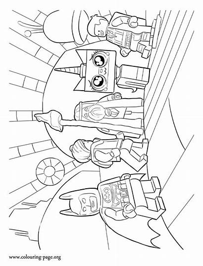 Coloring Pages Lego Emmet Wyldstyle Colouring Unikitty