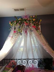best 25 girls fairy bedroom ideas on pinterest fairy With diy princess bed canopy for kids bedroom