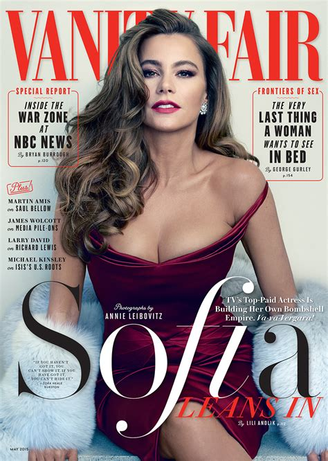 Vanità Fair Sofia Vergara Vanity Fair Magazine May 2015 Gotceleb