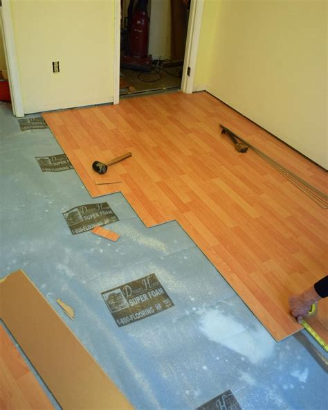 install laminate flooring   remove carpeting