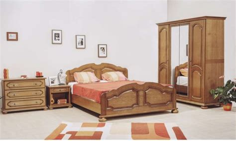 chambre bois massif adulte chambre en bois