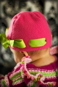 Try This Diy Fleece Bow Hat Project  Buy A Plain Hat And