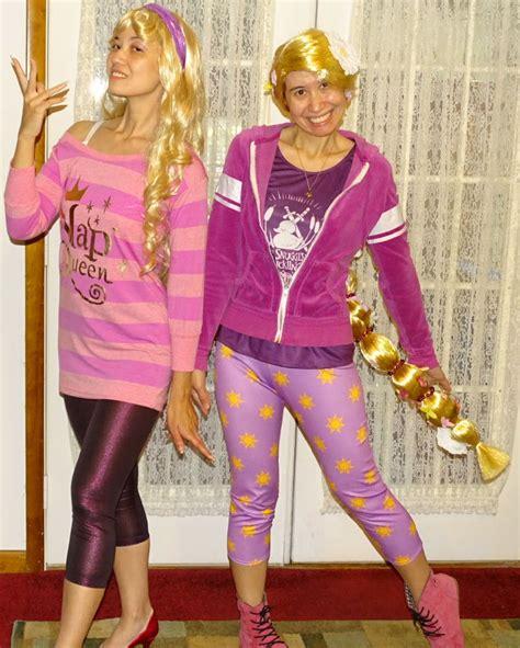 rapunzel comfy costume