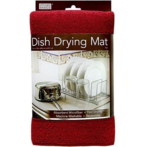 Kitchen Basics Dish Drying Mat Care by Kitchen Basics 461710 Microfiber Dish Drying Mat