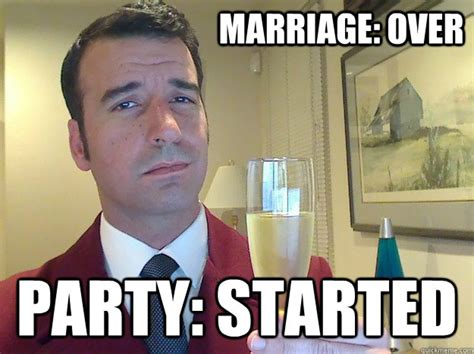 Funny Divorce Memes - funny divorce meme shows that splitting up can be celebratory photo huffpost