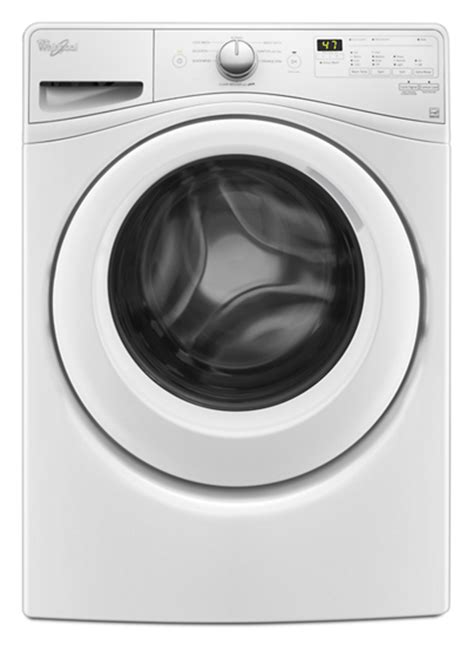 4 8 cu ft i e c front load washer with closet depth fit