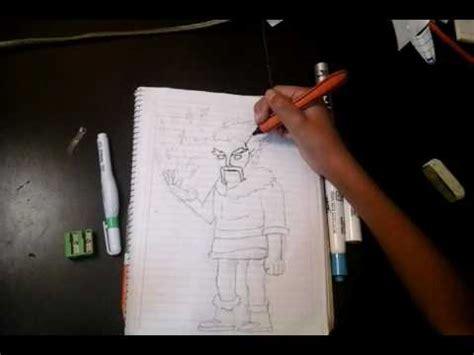 Como dibujar al mago de hielo clash royale/IKP YouTube