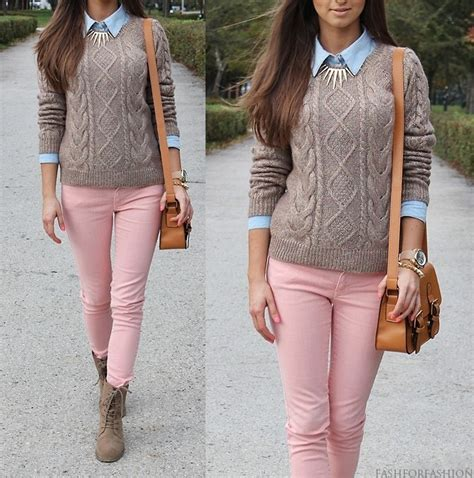 Best 25+ Pink jeans outfit ideas on Pinterest | Pink pants outfit Bubble necklace outfit and ...