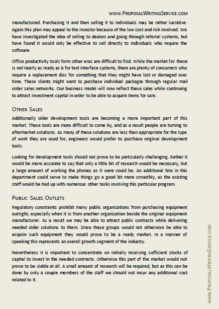 project proposal sample project  proposal writing