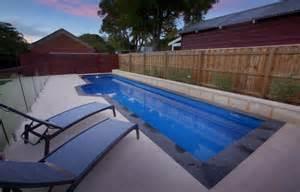Swimming Lap Pool Dimensions