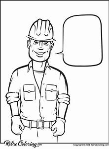 Construction Worker Drawing At Getdrawingscom Free For