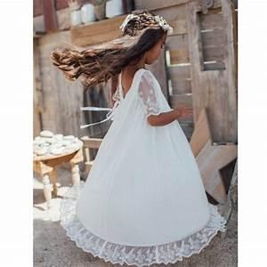 Robe Boheme Fille : robe fille thelma les petits inclassables ~ Melissatoandfro.com Idées de Décoration