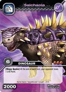 Image - Saichania TCG card.jpg - Dinosaur King