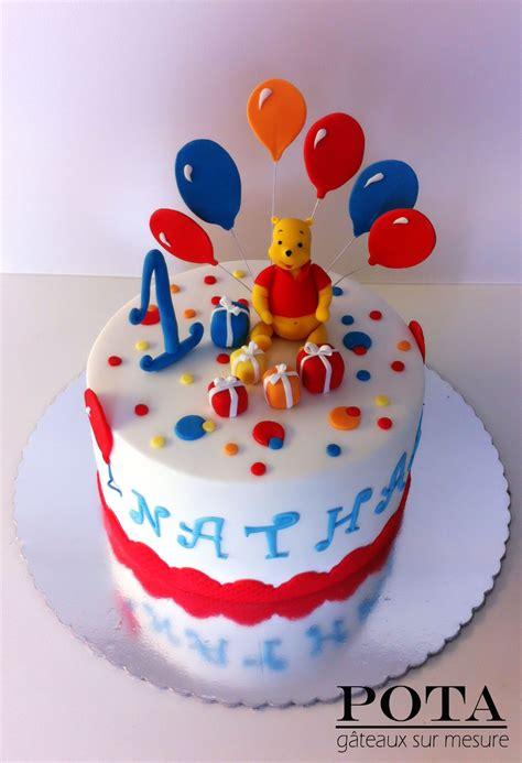 gateau anniversaire bébé 1 an g 226 teau d anniversaire pour b 233 b 233 de 1 an winnie the pooh