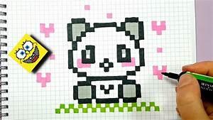 Ides De Pixel Art Panda Facile Faire Galerie Dimages