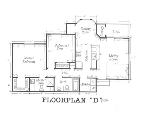 Home Design Dimensions by House Floor Plans With Dimensions Single Floor House Plans