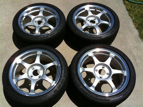 [fs] Rare Ssr Type C 16x7.5 Wheels For Sale