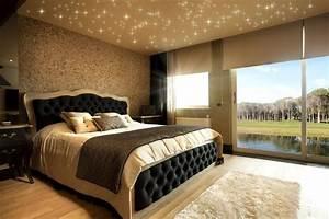 Sternenhimmel Fürs Schlafzimmer : sternenhimmel in decke mit led warmwei modern ~ Michelbontemps.com Haus und Dekorationen