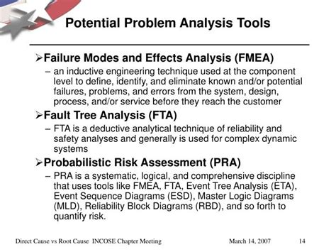 Potential Problems by Ppt Direct Cause Vs Root Cause 226 œa Problem Solving