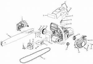 Homelite Ut10540 Parts List And Diagram