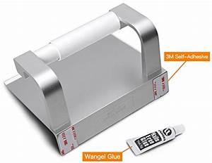 Kleber Für Aluminium : wangel toilettenpapierhalter ohne bohren patentierter ~ Jslefanu.com Haus und Dekorationen
