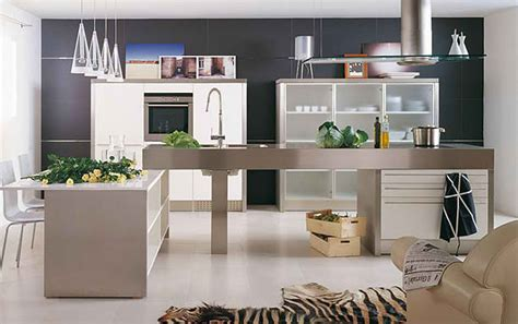 10 Stylish Aluminium Stainless Steel Kitchen Designs by 10 Stylish Aluminium Stainless Steel Kitchen Designs