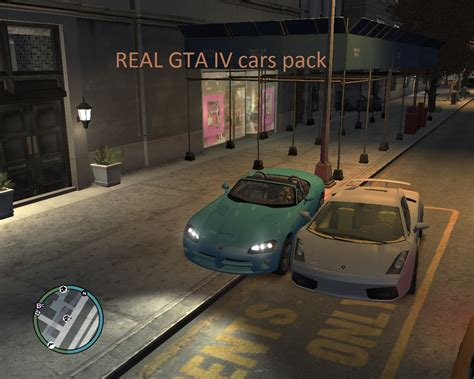 The Real Gta Iv Cars Pack Mod For Grand Theft Auto Iv