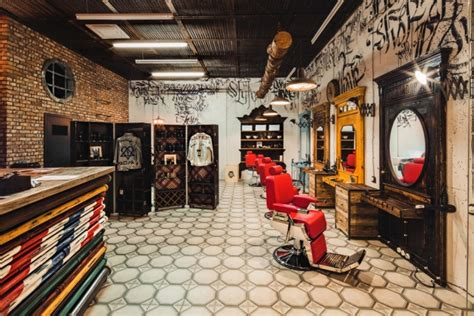 barbershop 187 retail design blog
