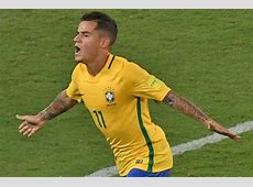 Watch Liverpool ace Philippe Coutinho nets Brazil