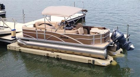 Air Boat Lift Prices by Floating Boat Lifts At Ease Dock Lift Detroit Lakes Mn
